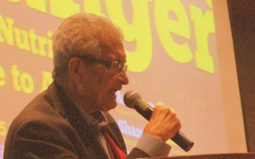 Economist Amartya Sen